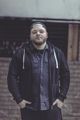Barry O'Connor (Ashly Rose) Tags: street winter portrait urban london metal musicians photoshop canon death raw january band 85mm flats cc portraiture shoreditch commission derelict remains f12 2016 85mmf12lii canon85mmf12lii canon5dmkii 5dmarkii inatthedeependrecords deathremains january2016 standfightbelieve