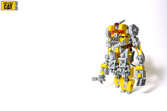 Caterpillar Mech - Mechanicpillar (Devid VII) Tags: city mobile cat robot team lego space military pillar caterpillar suit scifi minifig minifigs mechanic vii mecha mech moc mobilesuit hardsuit devid foitsop devidvii