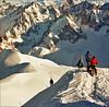 Before descending 2 (Katarina 2353) Tags: winter people mountain snow alps film landscape nikon chamonix alpinista katarinastefanovic katarina2353