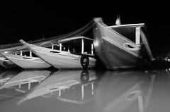 Night on the river (bambo_85) Tags: river boats movement nikon asia vietnam hoian d5100