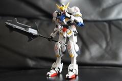 HG 1/144  Gundam Barbatos (IRON BLOODED ORPHANS) (Marco Hazard - Knight of Ren) Tags: iron orphans gundam blooded barbatos