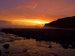 Be at peace (CPG Photos) Tags: world travel pink winter sunset summer sun white black beach water mystery skyline clouds landscape lumix iceland twilight sand waves outdoor sunsets wanderlust panasonic explore nordic rise artic nationalgeo cpgphotographyltd