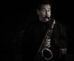 Jazz Quartet (1mpl) Tags: arizona bw phoenix monochrome portraits travelphotography phoenixbotanicalgardens jazzquartet canon7d niksilverefexpro