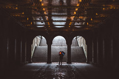 Shoot The Shooter @ Bethesda Terrace (Kenny Rodriguez) Tags: newyorkcity centralpark snowstorm bethesdaterrace kennyrodriguez