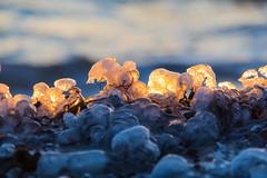 Warm light - cold ice