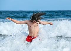 Boy having fun in the waves on the beach in Maspalomas (thorrisig) Tags: grancanaria play wave alda sjr maspalomas orri thorri sund dagur dorres englishbeach leikur sjrinn sigurgeirsson orfinnur kanareyjar thorfinnur thorrisig orrisig thorfinnursigurgeirsson ldugangur orfinnursigurgeirsson sigurgeirssonorfinnur islandskanar