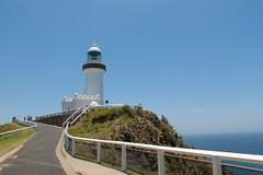 Cape Byron Lighthouse (Piedmont Fossil) Tags: ocean cliff lighthouse rock pacific australia capebyron