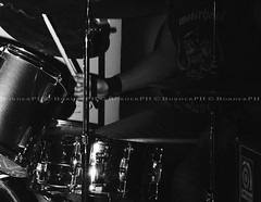 Jungle Julia (Lucienne Champ) Tags: music black milan metal pub nikon hole julia drum bass guitar live band jungle hardrock vocal 18125mm d5000