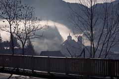 Smoke and cloud (Michel Couprie) Tags: cloud mist france church canon eos michel brianon vauban hautesalpes collgiale couprie ef100mmf28lismacro