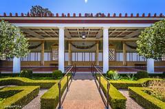 A Sunny Day at the Getty Villa (Samantha Decker) Tags: california ca wideangle malibu hdr highdynamicrange uwa canonefs1022mmf3545usm gettyvilla samanthadecker canoneos550d canoneosrebelt2i adobephotoshopcs6