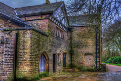 Smithills Hall (Kevin From Manchester) Tags: bridge architecture canon northwest lancashire bolton historical 1855mm hdr kevinwalker smithillshall canon1100d
