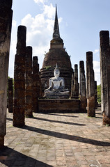 _GRL7693 (TC Yuen) Tags: architecture thailand ruins asia southeastasia buddha unesco worldheritage norththailand ancientcapital