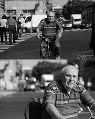 [La Mia Citt][Pedala] (Urca) Tags: portrait blackandwhite bw bike bicycle italia milano bn ciclista biancoenero mir bicicletta 2015 pedalare 7961 dittico nikondigitale ritrattostradale