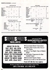 Manchester United vs Norwich City - 1976 - Page 16 (The Sky Strikers) Tags: old city red manchester one football official united devils norwich division trafford league programme