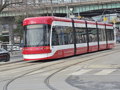TTC 4414 Flexity Outlook LRV By Bombardier Built 2015 LRV Southbound On Spadina Ave ROW Route 510 (drum118) Tags: tram streetcar trolleycar lightrailvehicle torontophoto route510 bombardierflexityoutlook transitttc ontariophoto ttcstreetcarfleet onspadinaaverow ttcflexityoutlookfleet built2015 ttc4414flexityoutlooklrv lrvsouthbound