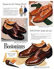 1951 Bostonians shoe ad (Tom Simpson) Tags: fashion vintage advertising shoes ad advertisement 1950s 1951 bostonians vintagead