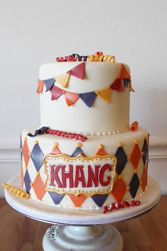 Circus Inspired Cake