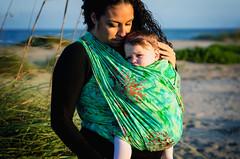 Wrapsody Hybrid: Zoe (wrapsodybaby) Tags: baby beach coral wrap babywearing motherhood carrier treeoflife babycarrier loveinmotion wrapsody ebbandflowphotography babywearingphotography eafbabywearing wrapsodystretchhybrid wrapsodyzoe