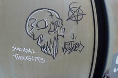 (o texano) Tags: bench graffiti texas houston trains freights natas moniker benching