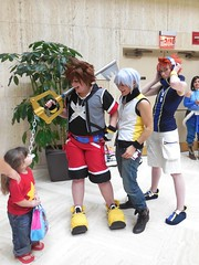 Meeting Steven (Wrath of Con Pics) Tags: cosplay sora riku kingdomhearts animeweekendatlanta twewy theworldendswithyou nekusakuraba stevenuniverse awa2015