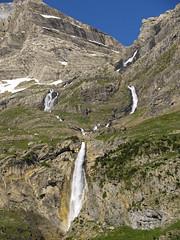 Wodospady w Circo Pineta