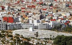 Cemetery of Ttouan (Yassine Abbadi) Tags: street sea cemetery river airport parking morocco maroc medina favela tanning kasbah tetuan tetouan martil bielding