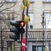 don't walk red street light berlin