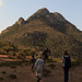 Trekking in the Haggiers Mountains, Socotra, Yemen