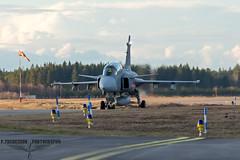 Jas 39D Gripen (P.Thuresson Photography) Tags: night airplane nikon sweden outdoor aircraft aviation jet sigma vehicle airforce jas saab afterburner f17 d610 gripen flygvapnet ronneby frsvarsmakten kallinge saabinthesky
