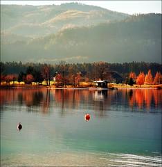 Wolfgangsee (Katarina 2353) Tags: autumn mountain lake alps film landscape austria sterreich nikon wolfgangsee katarinastefanovic katarina2353