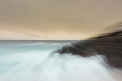 Norway-8.jpg (paulvwright) Tags: norway zoom zoomburst sand nikon longexposure intentionalcameramovement andoya rocks abstract icm nikond810 beach d810 spume sea