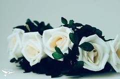 Acessrio para cabelo - Fada (Frann dos Santos) Tags: flores flower fairy fantasy mermaid concha coroa cabelo headband fada accessory sereia grampo acessrios prolas headpin