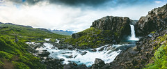 27082015-IMG_5069 (Nicola Pezzoli) Tags: road trip travel sunset summer sky green fall nature water clouds river landscape waterfall iceland cloudy panoramic east fjords icelandic