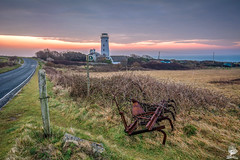 ''Pre Dawn'' (marcbryans) Tags: road panorama landscape outdoors dawn lighthouses agriculture portlandbill portlanddorset tokina1116mm nikond7100