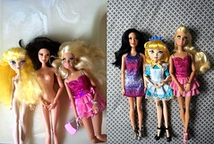 Thrift Store Queens (Christo3furr) Tags: life fashion monster store high doll barbie thrift locks after blondie fashionista ever savers mattel dreamhouse raquelle