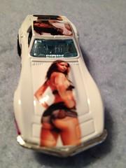 Stacey Dash '69 Corvette [5] (JeromeG111) Tags: woman black sexy chevrolet 1969 beautiful female chevy hotwheels actress corvette ebony nubian 2016 phenominal staceydash 69corvette customizedcar iphone4s