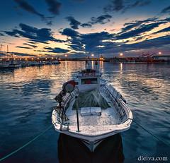 Amanecer en el Puerto de Garrucha, Almeria (dleiva) Tags: españa de landscape boat spain barco paisaje andalucia andalusia pesca domingo almeria almería leiva fisherboat garrucha spainsh dleiva provinciadealmería