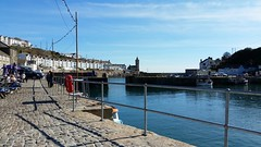 Porthleven (andy.j1) Tags: sea wall cornwall harbour path porthleven