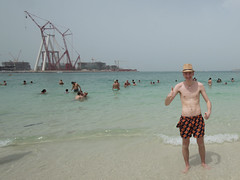 Beach (joona.haltia) Tags: dubai burjkhalifa