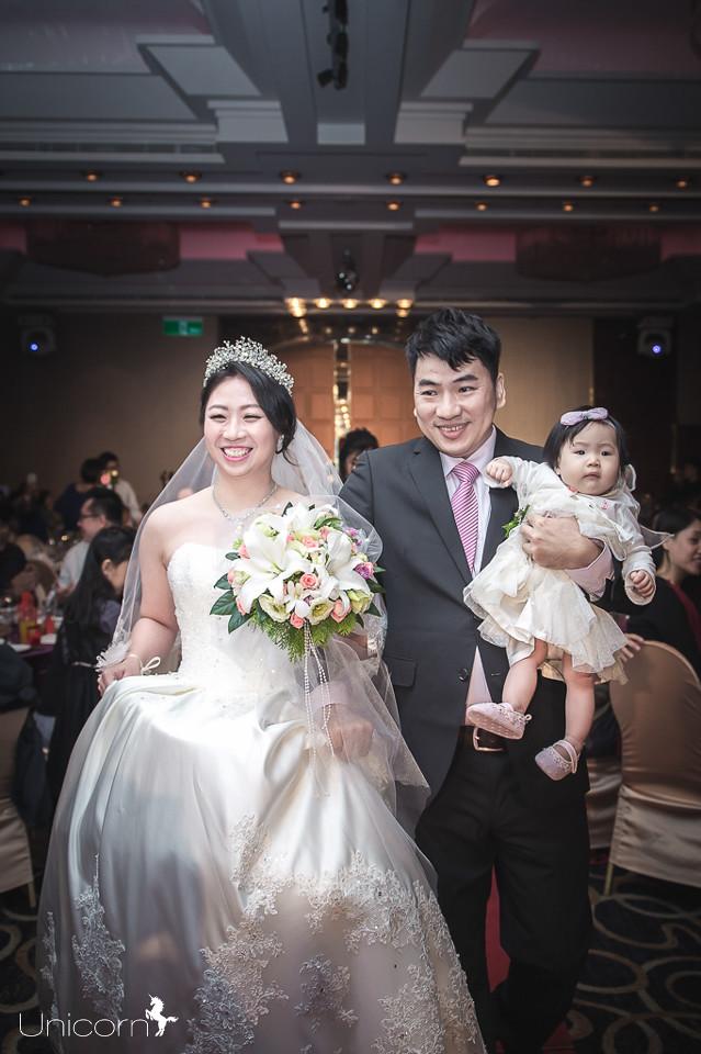 《婚攝一条》仕龍 & 伃佳 / 華漾大飯店