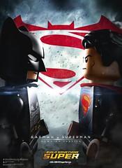 BATMAN v. SUPERMAN  Dawn of Justice (TooMuchDew) Tags: lego superman batman minifig dccomics benaffleck clarkkent minifigure brucewayne legobatman batmanvssuperman thelegogroup legosuperman dawnofjustice legodcsuperheroes warnerbrosentertainment batmanvsuperman henrycaville legocomdcsuperheroes