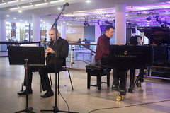 Luca Luciano (2016) 04 - with Bruno d'Ambra (KM's Live Music shots) Tags: italy piano jazz clarinet southbankcentre fridaylunch westernclassicalmusic lucaluciano brunodambra