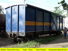 Philippine National Railways - Naga Division (alcogoodwin) Tags: philippines transport boxcar railways bicol naga philippinenationalrailways philippinerailwayshistoricalsociety