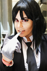 Sebastian Michaelis (Drowned Out By Roses) Tags: she nature girl sebastian cosplay her comicon travestimento lovecosplay shesebastian