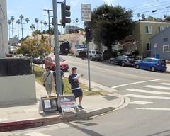 006 Corner Of Scott And Echo Park (saschmitz_earthlink_net) Tags: california losangeles orienteering echopark elysianpark 2016 losangelescounty laoc losangelesorienteeringclub