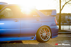 "WEDS Maverick 710S - Subaru STI 04 Blue • <a style=""font-size:0.8em;"" href=""http://www.flickr.com/photos/64399356@N08/26201511970/"" target=""_blank"">View on Flickr</a>"