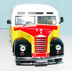 IMGP9580 (Steve Guess) Tags: bus ford scale yellow thames model malta 143 fordson oscale et7 eby537 7mmft