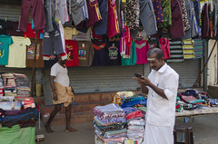(aravindselvaraj) Tags: world street travel mobile colours dress blind sale streetphotography virtual worker purchase seller tamilnadu twc southindia trichy betterphotography trichyweekendclickers