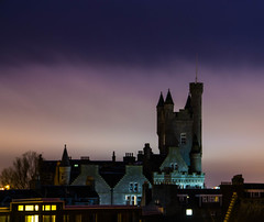 Aberdeen city (magnusson.ingemar) Tags: world street uk winter storm rain skyline night clouds landscape lumix scotland spring long exposure cityscape britain outdoor panasonic aberdeen