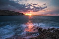 Sunset Rocky Coast (nigel.barry22) Tags: ocean sunset sea sky seascape rock coast headland anglesey holyhead rockycoast